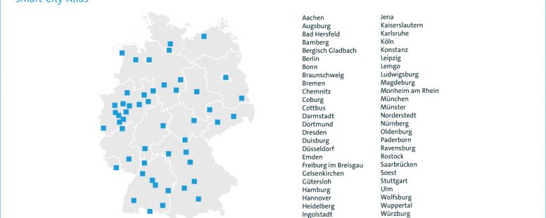 Smart-City-Atlas des Digitalverbands bitkom