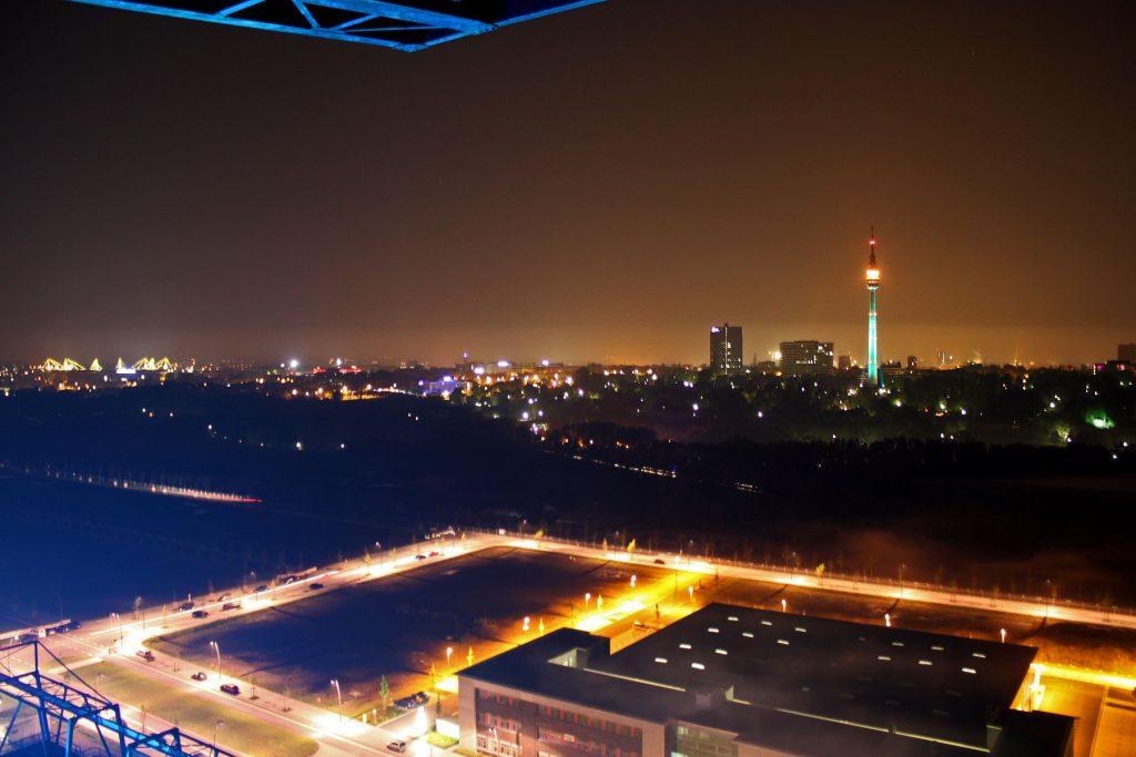 BVSC-Nachtpanorama von Soeren Spoo, Dortmund-Agentur, Stadt Dortmund