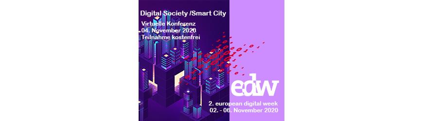 Digital Society/Smart City: Antriebsfeder Lockdown -Vorwärtsschub der Stadtentwicklung in Krisenzeiten