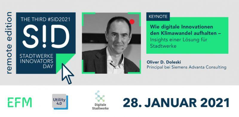 BVSC Keynote #SID2021 Stadtwerke Innovators Day - Oliver Doleski