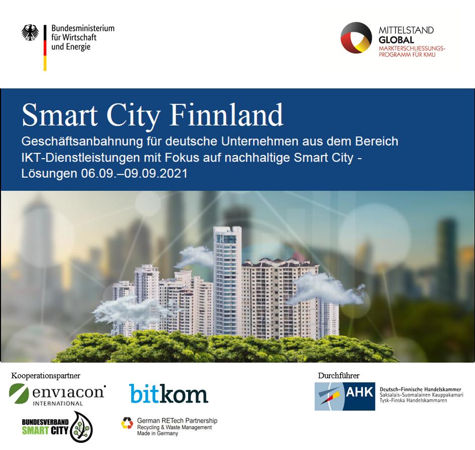 Digitale Geschäftsanbahnung Finnland: Nachhaltige Smart City-Lösungen
