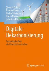 Buchcover - Oliver Doleski - Digitale Dekarbonisierung - Technologieoffen die Klimaziele erreichen